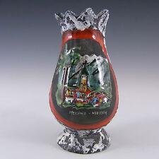 "San Marino/Meran Italian ""Smalto Roccia"" Ceramic Pottery Vase"
