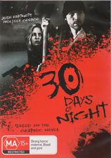 30 Days of Night (2007) * NEW DVD * Josh Hartnett Melissa George