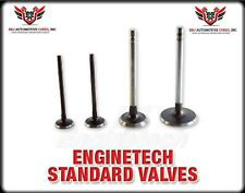 NEW (8) ENGINETECH CHEVY SBC 305 5.0 350 5.7 VORTEC EXHAUST VALVES 1.500 96 - 02