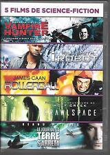 COFFRET 5 DVD / 5 FILMS--VAMPIRE HUNTER/I ROBOT/ROLLERBALL/CRAWLSPACE/LE JOUR...