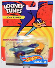 HOT WHEELS POP CULTURE LOONEY TUNES ROAD RUNNER CHARACTER CARS W+