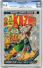 Astonishing Tales #18  CGC  9.4  NM  Off- wht pgs Ka-Zar Story, Nick Fury, Gemin