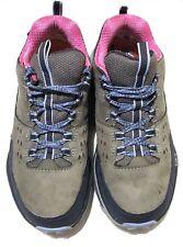 Hoka One One Tor Summit WP Hiking Shoe - Women's Sz 6 Steel Grey/Hydrangea