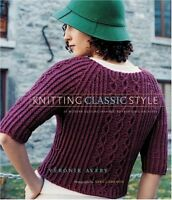 Knitting Classic Style: 35 Modern Designs Inspired by Fashions Archives by Vero