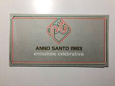 Folder Libretto Anno Santo 1983 Holy Year Grigio CU P25 Spillato con Cartoncino