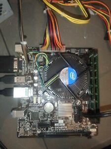 Intel Core i7 3770K Unlocked Cpu + Gigabyte Micro Atx Motherboard + 16gb Ram