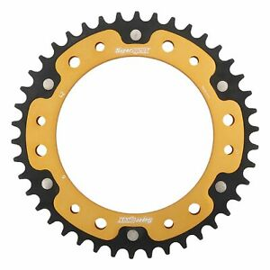 New Supersprox Stealth Sprocket 15493 for BMW F800GS 08-16 Gold