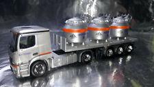 * Herpa 307246  Mercedes-Benz Actros Classicspace 2,3 Aluminum Pot Semitrailer
