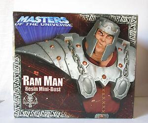 "buste RAM MAN ""Bélios""  MOTU neca"