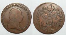 1 piece de 3 Kreuzer Bronze Autriche 1800