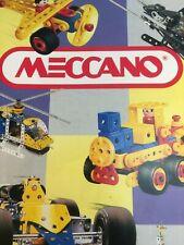Seltener Meccano Metallbaukasten Katalog von 1994