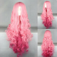 Ladieshair Cosplay Wig Perücke pink 90cm Uta no Prince Sama Ringo Tukimiya F7T