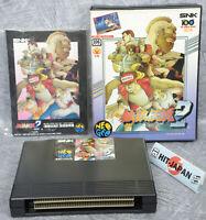 FATAL FURY 2 NEO GEO AES SNK neogeo JAPAN Game Ref/2820
