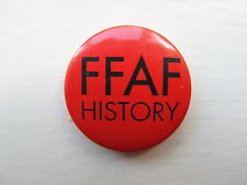 FUNERAL FOR A FRIEND - HISTORY  - 1 inch / 25mm Button Badge - USED Promotional