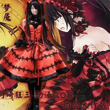 Tokisaki Kurumi Cosplay Fancy Dress Lolita Princess Anime DATE A LIVE Cosplay