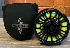 For Sale: Galvan Torque 8 (T-8) Fly Reel - Black - with WF8F Steelhead Fly Line