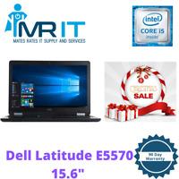 """Dell Latitude E5570 15.6"""" Intel i5- 6300HQ @ 2.30GHz 8 GB RAM 256GB SSD Win10"""