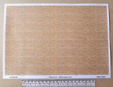 "OO/HO gauge (1:76 scale) ""yellow brick""  paper - A4 sheet"