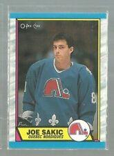 1989-90 O-Pee-Chee #113 Joe Sakic RC EX-MT+ (ref 6735)