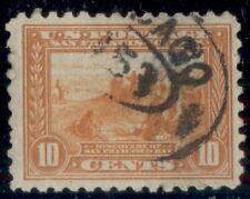 US #404, 10¢ orange, p. 10, used, VF, Scott $70.00