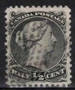 CANADA Scott 21 Used ## 1 cent start ##