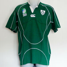 Irlande, Ireland - Maillot Coupe du Monde de rugby 2007, rugby shirt, taille L