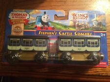 Stephen's Castle Coaches for the Thomas Wooden Railway System New in Package!