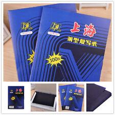 100 Sheets A4 Black Carbon Hand Copier Stencil Transfer Paper Hectograph