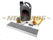 Mini R50 R52 W10 1.6 04-08 Full Service Kit   Air Oil Cabin Filter, Plugs & Oil