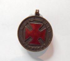 More details for herne hill harriers bronze & enamel sports medal badge not engraved 24 mm
