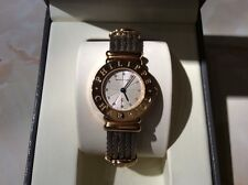 Philippe Charriol Authentic Stainless Steel 18K Gold Plate Watch St Tropez