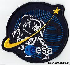 """AUTHENTIC - ESA -  SPACE AGENCY - 4.75"""" AB EMBLEM SPACE EXPLORATION PATCH"""