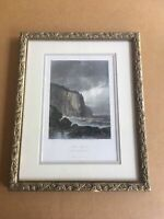 VINTAGE  PRINT OF EARLY PICTURESQUE AMERICA - 1874 - LAKE SUPERIOR Original