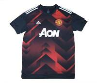 Manchester United 2017-18 Authentic Pre-Match Shirt (Excellent) XL Soccer Jersey
