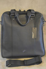 Porsche Design Shyrt-Leather BriefBag MV,Tasche mit Laptopfach,Leder,Schwarz Neu