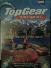 TOP GEAR THE GREAT ADVENTURES 5 DVD BOXSET *** NEW & SEALED ***