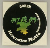 PRL) GOZER MOTTA MERENDINE ADESIVO COLLEZIONE STICKER COLLECTION AUTOCOLLANT