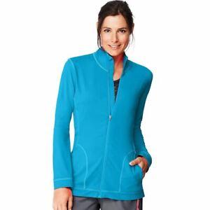 Hanes Sport Women's Performance Fleece Zip Up Jacket w/Pocket - 5 COLORS - S-2XL
