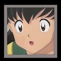 INUYASHA KAGOME - 2X Authentic Animation CEL W/ Background Ep. 57!