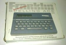 Franklin Computer Spelling Ace Sa-98 Spell Checker/Dictionary, Phonetic & Games