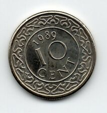 Suriname - 10 Cent 1989 UNC