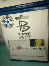 Usa Power Balance Wristband Limited Edition Soccer Size Large