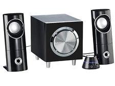 2.1 PC Computer Multimedia Lautsprecher Sound System