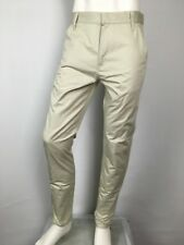 Kris Van Asshe Cream Chino Pants NWT ORP$500 Made in Belgium Krisvanasshe