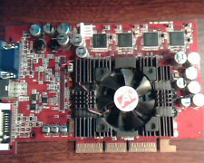 AGP card ATI Radeon 9500 Pro 128M 109-A05600-00 102A0560100 Video VGA DVI