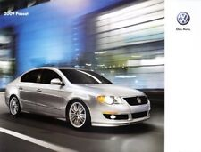 2009  09 VW  Passat  oiginal sales brochure MINT