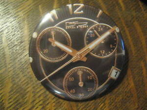 Daniel Steiger Diamond Watch Advertisement Promo Button Pin FREE USA Ship $20