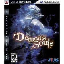 Demon's Souls PS3 PlayStation 3 Video Game Mint Condition UK Release