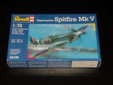 MAQUETTE - SPITFIRE MK.V SUPERMARINE - REVELL - 1/72  - MODEL KIT - BOITE SCELLE