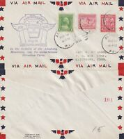 US 1932 20th ANNIVERSARY OF US AIR MAIL COMMEMORATIVE COVER ALTOONA PA